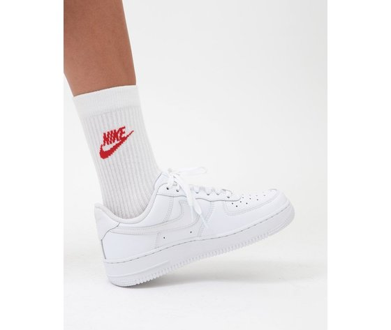 Calze bianche nike multicolor nike everyday essential sock   3 pack   white   multi    sk0109 911  %282%29