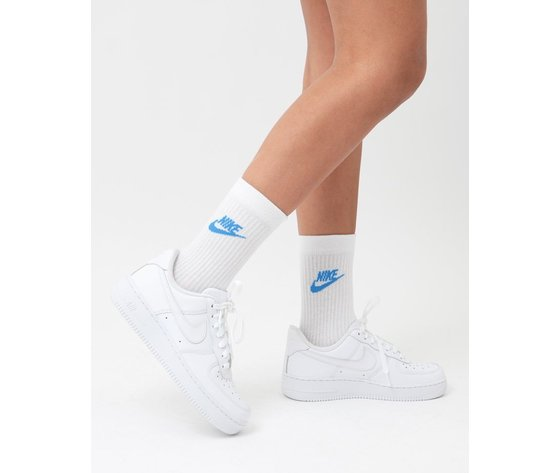Calze bianche nike multicolor nike everyday essential sock   3 pack   white   multi    sk0109 911  %284%29