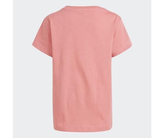Adidas originals t shirt rosa bambina large trefoil bianco art. gn8205 1