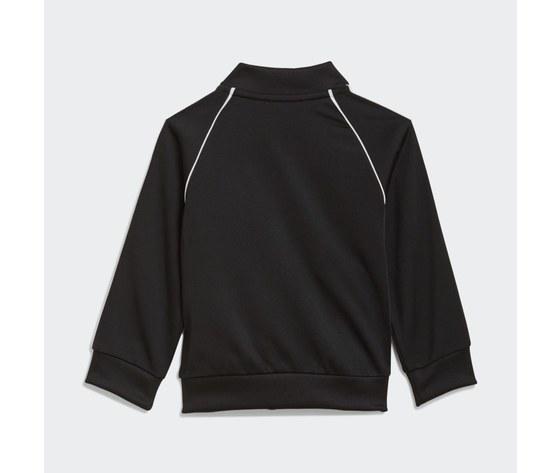Adidas originals completo tuta bianco e nero bambino track suit adicolor sst art. gn8441 3