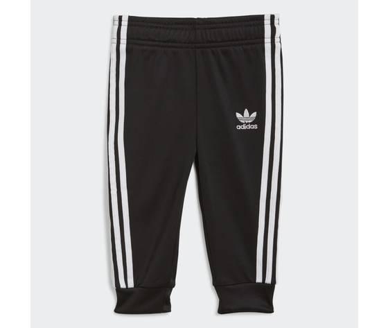 Adidas originals completo tuta bianco e nero bambino track suit adicolor sst art. gn8441 2