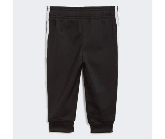 Adidas originals completo tuta bianco e nero bambino track suit adicolor sst art. gn8441 1