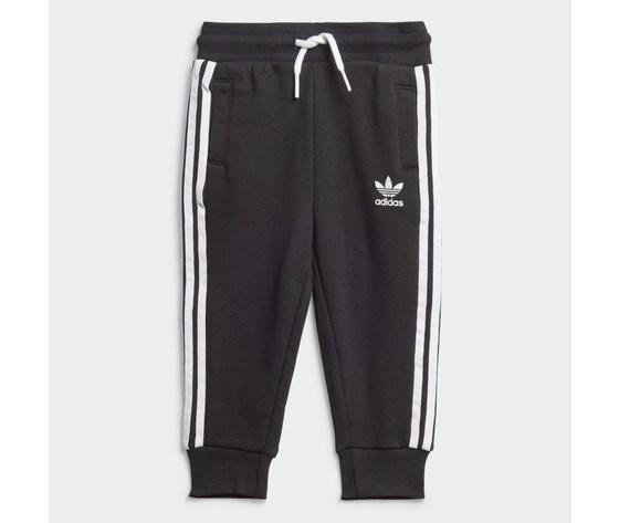 Adidas originals completo tuta bambino nera in spugna crew sweatshirt art. ed7679 3