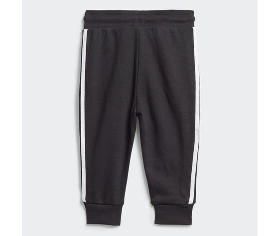 Adidas originals completo tuta bambino nera in spugna crew sweatshirt art. ed7679 2