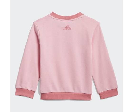 Adidas essentials completo bambina rosa felpa e pantaloni art. gn3949 2