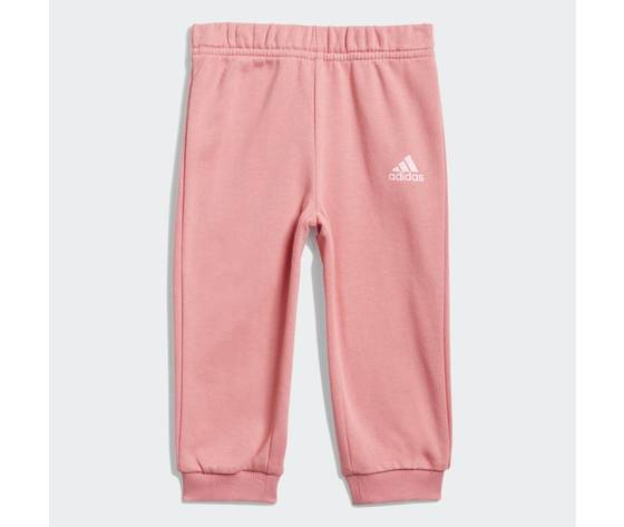 Adidas essentials completo bambina rosa felpa e pantaloni art. gn3949 3