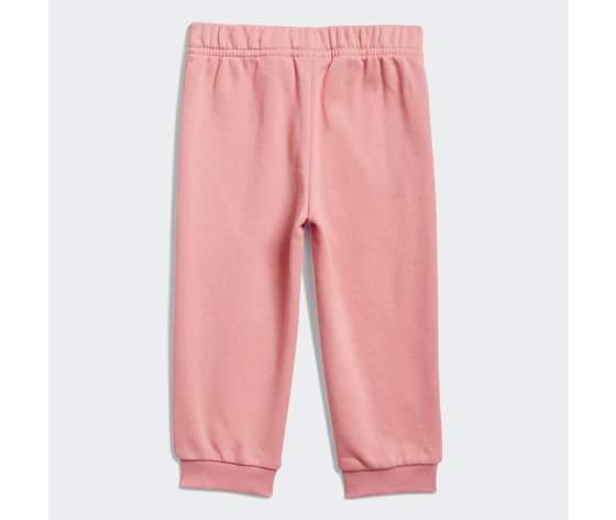 Adidas essentials completo bambina rosa felpa e pantaloni art. gn3949 4