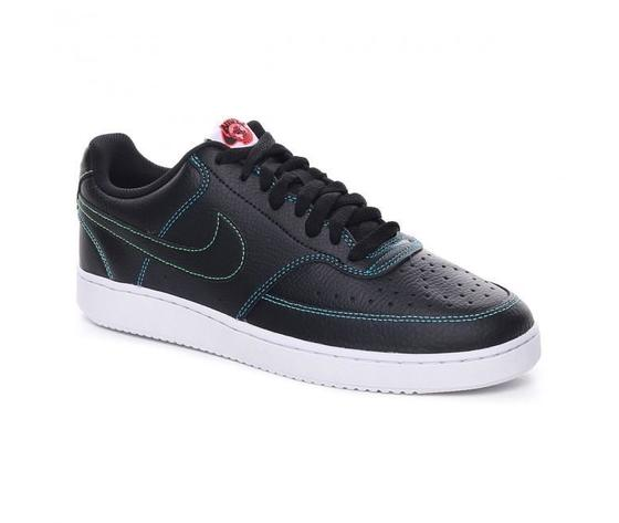 Nike court vision low uomo nere cuciture multicolor art. cd5463 006 2