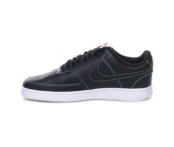 Nike court vision low uomo nere cuciture multicolor art. cd5463 006 1