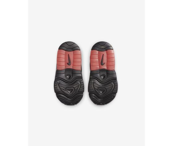 Scarpe bambino nike air max exosense nere con dettagli rossi art. cn7878 001 2