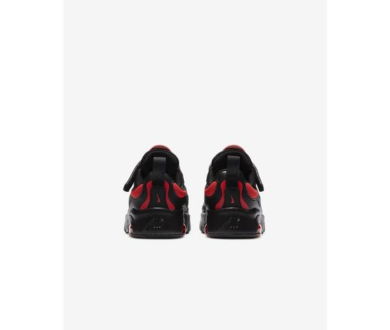 Scarpe bambino nike air max exosense nere con dettagli rossi art. cn7878 001 3