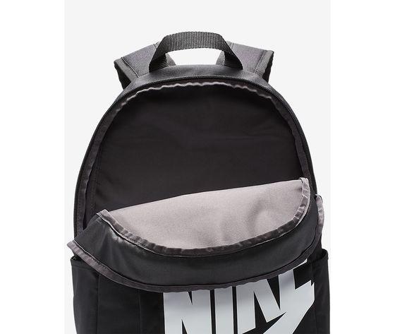 Zaino nike sportswear nero logo bianco art. ba5876 082 5