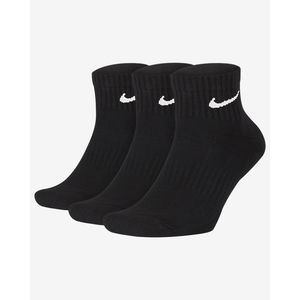 Calze Nike Everyday Cushioned Nere Logo Bianco Caviglia art. SX7667 010