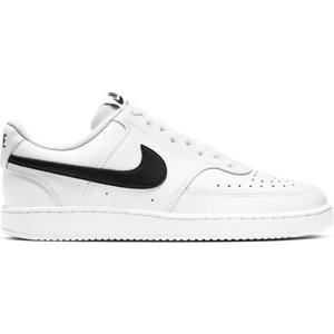Nike Court Vision Force Low Bianche Baffo Nero Swoosh Sneakers Basse Pelle art. CD5463 101