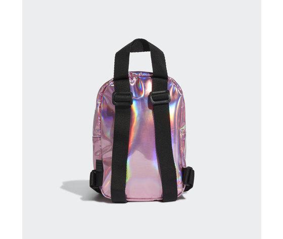 Adidas mini zaino rosa iridescente trefoil art. gn2128 1