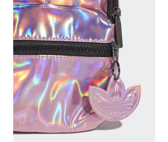Adidas mini zaino rosa iridescente trefoil art. gn2128 4
