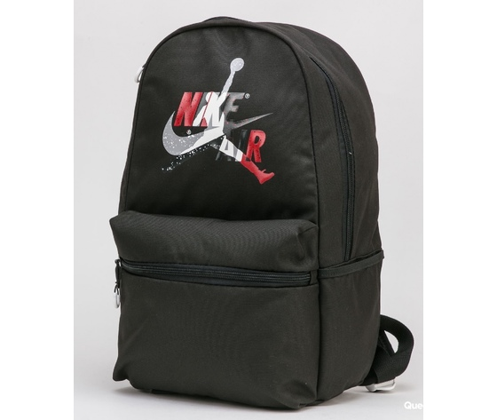 Zaino nero e rosso nike  jordan jumpman classics daypack art. 9a0381 kr5 1