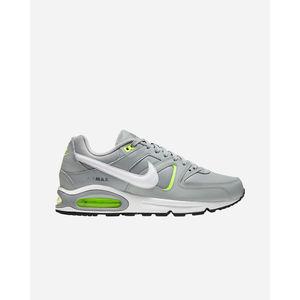 Scarpe Uomo Nike Air Max Command M Grigio Dettagli Gialli art. DD8685 001