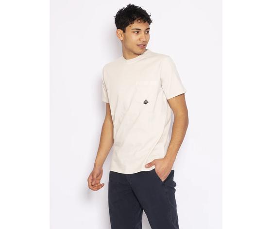 T shirt uomo roy roger's stucco girocollo con taschino cotone jersey art. p21rru500c9320306 s 1
