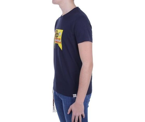 T shirt unisex roy roger's vintage blu girocollo stampa roy cotone regular fit art. p21rrx519c9300569 b 1