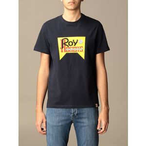 T-Shirt Unisex Roy Roger's Vintage Nera Girocollo Stampa Roy Cotone Regular Fit art. P21RRX519C9300569 N