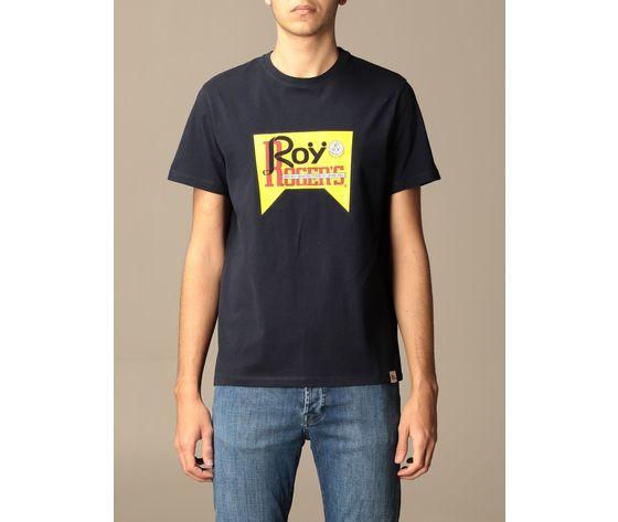 T shirt unisex roy roger's vintage nera girocollo stampa roy cotone regular fit art. p21rrx519c9300569 n