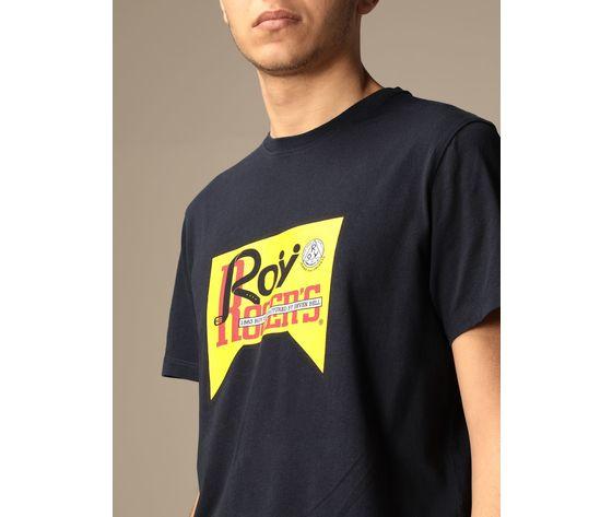 T shirt unisex roy roger's vintage nera girocollo stampa roy cotone regular fit art. p21rrx519c9300569 n 2