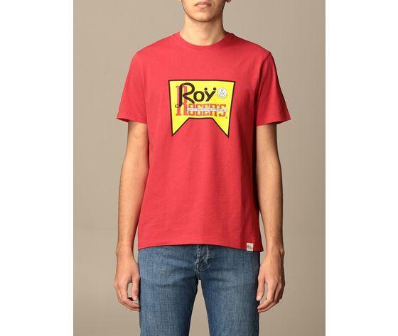 T shirt unisex roy roger's vintage rossa girocollo stampa roy cotone regular fit art. p21rrx519c9300569 r
