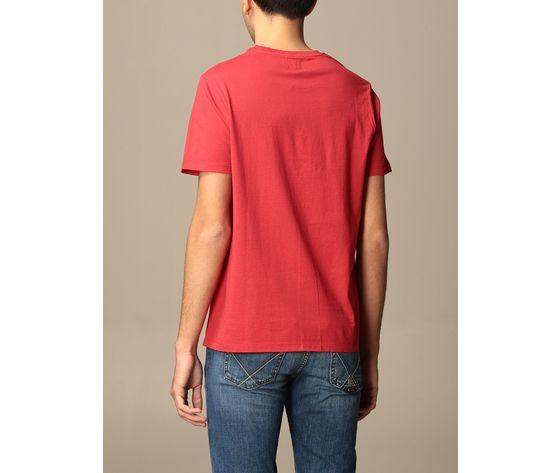T shirt unisex roy roger's vintage rossa girocollo stampa roy cotone regular fit art. p21rrx519c9300569 r 1
