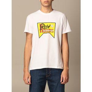 T-Shirt Unisex Roy Roger's Vintage Bianca Girocollo Stampa Roy Cotone Regular Fit art. P21RRX519C9300569 BI