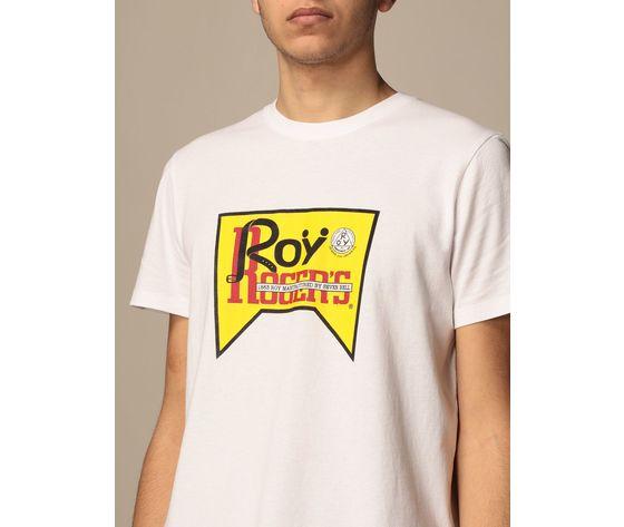 T shirt unisex roy roger's vintage bianca girocollo stampa roy cotone regular fit art. p21rrx519c9300569 bi 2