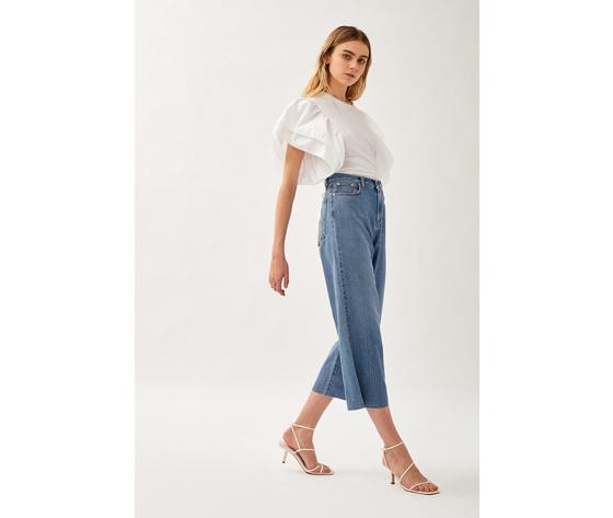 Jeans donna roy roger's rita cropped clintha fibre naturali art. p21rnd043d4271707