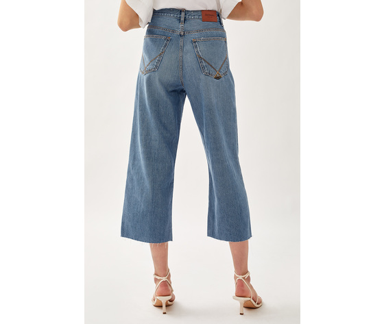 Jeans donna roy roger's rita cropped clintha fibre naturali art. p21rnd043d4271707 3