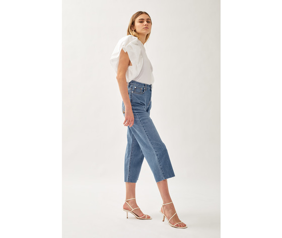 Jeans donna roy roger's rita cropped clintha fibre naturali art. p21rnd043d4271707 4