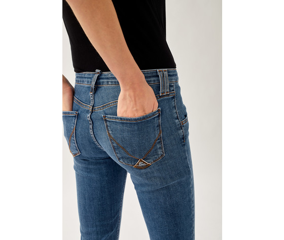 Jeans donna roy roger's elionor noosa in denim super stretch lavaggio medio art. p21rnd010d3641745 2