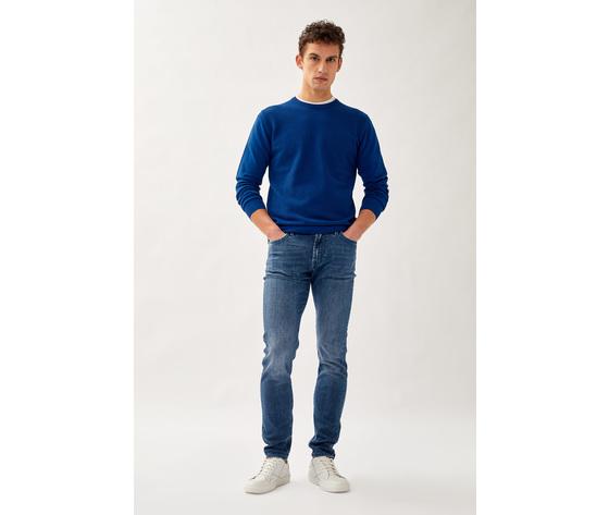 Jeans uomo roy roger's 517 nick special in denim elasticizzato art. p21rru075d1410897 5