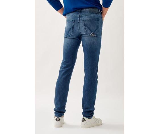 Jeans uomo roy roger's 517 nick special in denim elasticizzato art. p21rru075d1410897 4