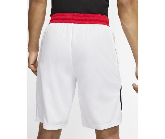 Pantaloncini nike bianchi logo nero dri fit hbr m art. bv9385 100 1