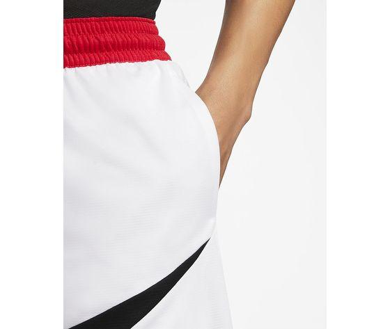 Pantaloncini nike bianchi logo nero dri fit hbr m art. bv9385 100 2