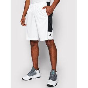 Pantaloncini Jordan Dry Knit Short Bianchi Banda Laterale Nera art. CD5064 100
