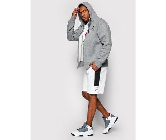 Pantaloncini jordan dry knit short bianchi banda laterale nera art. cd5064 100 1
