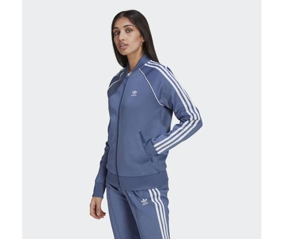 Giacca track donna blu adidas originals primeblue sst art. gn2939