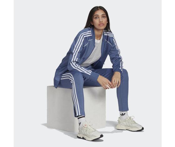 Giacca track donna blu adidas originals primeblue sst art. gn2939 2
