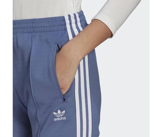 Pantalone track donna blu adidas originals primeblue sst art. gn2942 3