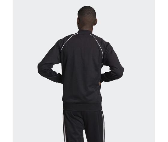 Giacca track uomo nera bianca adidas originals adicolor classics primeblue sst art. gf0198 2