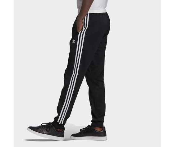 Pantalone track nero e bianco adidas originals adicolor classics primeblue sst art. gf0210 1