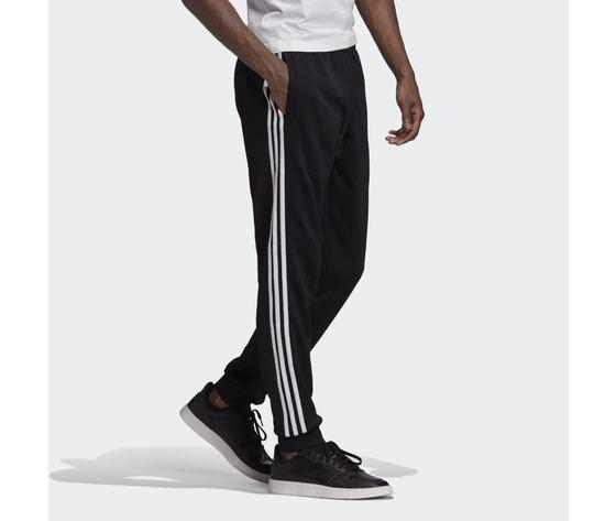 Pantalone track nero e bianco adidas originals adicolor classics primeblue sst art. gf0210 3