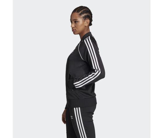 Giacca track donna nera e bianca adidas originals adicolor classics primeblue sst art. gd2374 1