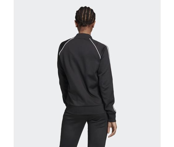 Giacca track donna nera e bianca adidas originals adicolor classics primeblue sst art. gd2374 2