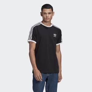 T-Shirt Uomo Nera Adidas Originals Adicolor Classics 3 Stripes art. GN3495